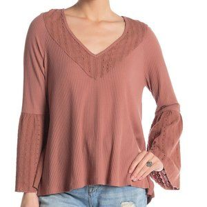 Free People Parisian Nights Top Size Small